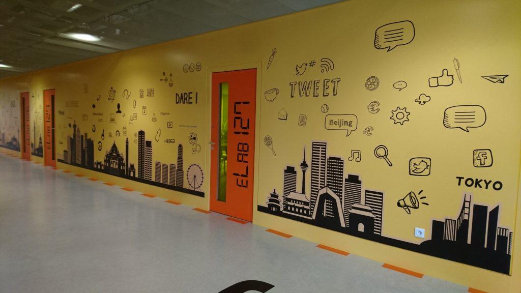 Décoration mural intérieure HEC